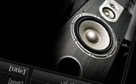 قالب موزیک برای میهن بلاگ